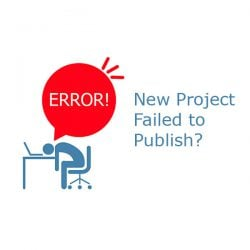 Project failed to publish
